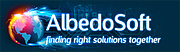 Logo of AlbedoSoft ApS